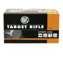Cartouches-22 LR-RWS-Allemandes.-Target -  Pistol Match -  Courte Verte - A blanc  - Sans poudre - Subsonic- Club