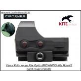 Viseur KITE Holo K1  BROWNING + MONTAGE- Promotion-Ref k282356-kite