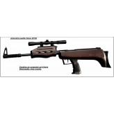 Carabine-Air comprimé-QB  57-Cal 4.5mm-Démontable-Armement levier latéral- + lunette 4x20 + boite de 400 plombs-Promotion- Ref 11225
