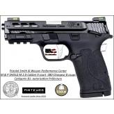 Pistolet Smith et Wesson M&P 380 Shield M2.0 silver Calibre 9 court 380 Semi automatique USA-Catégorie B1-Promotion-Ref 781927