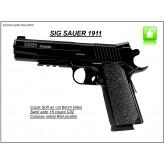 """Pistolet Sig Sauer 1911 Cybergun.Cal 6 m/m -Semi auto-Culasse métal -""""Promotion""""Ref 13342"""