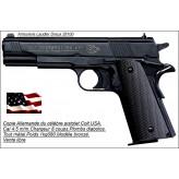 """Pistolet-Umarex-COLT-Government-1911-A1-Cal 4,5m/m-8 coups-BRONZE noir-""""Promotion""""-Ref 14218"""