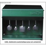 Porte-cible-mobiles-basculant-retour automatique-air comprimé -Promotion-Ref 1622