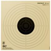 Cibles de tir cartonnées 17X17cm. Paquet de 100.Ref 1854