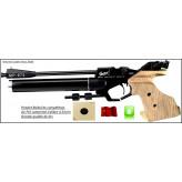 Pistolet BAÏKAL MP 672 Calibre 4.5 m/m air pré-comprimé Compétition-Droitier-Promotion-Ref 18021