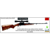 """Carabine-Baikal -un coup- """"Kipplauf""""-Cal  222 Rem+ Kit lunette-LYNX 3x9x40-Montage-Mono Bloc -Promotion-Ref 7865"""