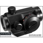 Viseur unifrance LYNX point rouge-Compact- avec rail type Weaver-21m/m-Point rouge ou vert-pour 22 Lr ou Soft air-Ref 22341