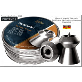 Plombs HN Calibre 4.5m/m Terminator chasse Têtes pointues-Pour armes-air comprimé -Bte de 400-Ref 22961