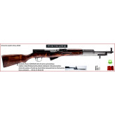 Carabine Simonov Semi automatique Russe SKS 45-Calibre 7.62x39-M43-Catégorie B4-Ref 24739