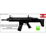 Carabine ISSC commando Austria MK 22 Calibre 22 LR 20 coups  Noire-Semi-automatique-Autriche--Catégorie B2-A-Ref 27078
