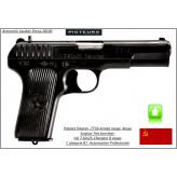Pistolet Tokarev TT33 Russe Calibre-7.62x25-Semi automatique-Catégorie B1-Promotion-Avec-Autorisation-Préfectorale-B1-Ref 29749