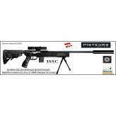 Carabine-ISSC-SPA-Advanced-Tactical-Survival-synthetique-Autriche-Répétition-Linéaire-Cal -22Lr-ou-17 HMR+ Mallette-+lunette+bipied-Promotion-Ref issc-30506bis-issc30303bis