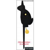 Cible-basculante-lapin-calibre-air-comprimé-Automatique-Pisteurs-Ref 31289