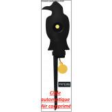 Cible basculante corbeau calibre air comprimé Automatique-Pisteurs-Ref 31290