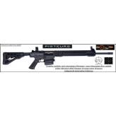 Carabine Luxdeftec AR 10 Calibre  308 winch  noire  LTD Semi automatique Allemagne -Catégorie B2E -Ref 31700