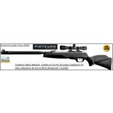 Carabine-Gamo-Black-Maxxim-air comprimé-Cal 4.5mm -29 joules+frein bouche+lunette- Promotion-Ref 30696-33725