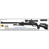 Carabine GAMO HPA MI IGT Air comprimé Calibre 4.5mm 19,90 joules pack lunette et bipied et modérateur de son -Promotion-Ref 33728
