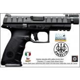 Pistolet Beretta APX  Striker Calibre 9 para Semi automatique Canon FILETE -Catégorie B1-Promotion-Ref 33871