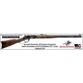 Carabine-WINCHESTER-Authentique-1873-Sporter-Octogonal-boitier-Acier -jaspé-Calibre-45 Colt -Ref 35551