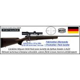 Mauser M18 extreme Calibres 243w -30-06-300 winch mag-composite marron Pack Pisteur  lunette battue répétition Canon fileté -Promotion-