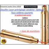 Douille LASER Sight Mark carabine calibres 243- 308-7,62x54 réglage lunette- Ref 37040