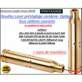Douille LASER Sight Mark carabine calibre 9.3X62 réglage lunette- Ref 37056