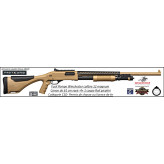 Fusil pompe Winchester SXP XTREM Dark rifled Calibre 12 Magnum + visée et rail picatini Crosse composite busc réglable Canon rayé 61cm 4+1 coups-Promotion-Ref 38132
