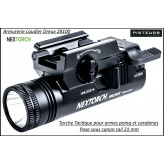 Lampe Nextorch WL10X Executor pour armes de poing ou carabine rail picatini 21 mm-Sous canon-Promotion-Ref 40077