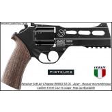 Révolver Chiappa Rhino 50 DS  Soft air Calibre 6mm C02 Acier 6 coups Hop Ajustable -Ref 41527