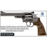 "Revolver Smith & wesson M29 Air CO2 Calibre 4,5 mm Bleui Canon 6 "" Barillet 6 coups plombs billes métal Full métal-Ref 41719"