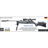 Carabine UMAREX 850 M2 XT Air magnum Calibre 4.5mm C02-88 grammes-KIT+ lunette + silencieux + bipied 16 joules-Promotion-Ref 37842