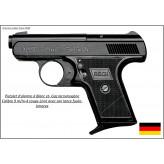 Pistolet-Alarme-RECK-GOLIATH-Cal. 9 mm à blanc et gaz-Ref 5651
