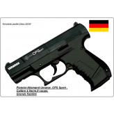 Pistolet Umarex Walther Calibre 4.5mm CPS Sport Allemand CO2 -8coups-Promotion-Ref 7052