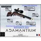Carabine CZ 457 Adamantium CUSTOM SILENCE CaIibre 22Lr Chargeur 5 coups-Bleu -Promotion-Ref CZ-adamantium-23011-B