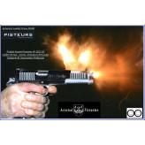 Pistolet-Arsenal-Firearms-AF2011-second-century-double-canon-Calibre-45-ACP-bronzé-Catégorie B1-Autorisation-Préfecture-Promotion-Ref -arsenal-DUO-bronzé