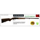 Fusil-un coup-Baïkal -Cal 20 mag-Ejecteur-Canon 66cm-Crosse bois-Ref 2125