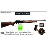 Carabine BROWNING BAR LIGHT semi automatique  3 coups Calibre 300 winch mag- IWA- Standard Plus-DESTOCKAGE-Ref 11974-16045