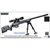 Carabine RUBIS TACTICAL Carbon BCM europearmes Calibre 308 winch Répétition Crosse réglable rails picatini +lunette microdot FFP-6-24x50+bipied-Promotion-Ref BCSP100