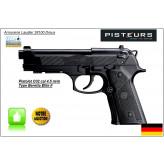 """Pistolet BERETTA ELITE II Umarex  CO2 Calibre 4.5mm- Allemand-Billes d'acier-18 coups-""""Promotion""""-Ref 12874"""