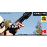 Silencieux fusil Calibre 12 chasse A-Tec shotgun A12-pour semi automatiques-Ref silencieux-A-tec-A12-33250