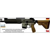 Carabine-HK-MR-223-A3-RAL8000-semi-automatique-Cal-223-rem-crosse-télescopique-Canon-11 pouces-Avec-Autorisation-Préfectorale-B4-Ref HK-MR-223-A3-Ral-8000