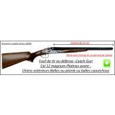 """Juxtaposé-Coach Gun -Cal 12 magnum-Canons 55 cm-Platines Jaspées-Chiens extérieurs-""""Promotion"""".Ref Coach gun"""