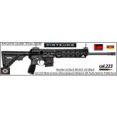 Carabine-HK-MR-223-A3-black-semi-automatique-Cal-223-rem-crosse-télescopique-Canon-11 pouces-Avec-Autorisation-Préfectorale-B4-Ref HK-MR-223-A3-black