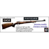 """Carabine CZ 557 luxe-Nouveau modèle-CHARGEUR-AMOVIBLE-Calibre 243 winch-Répétition 5 coups.""""Promotion""""Ref 777317"""