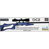 Carabine  CZ Mod 455 Evolution Varmint -Cal 22 LR avec LUNETTE LYNX 6X24X42-Répétition -Promotion-Ref 772921-bis