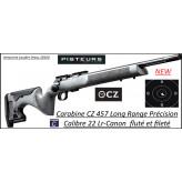 Carabine CZ Mod 457 Long Range Précision Calibre 22Lr Répétition -Promotion-Ref CZ-457 long range précision-782370