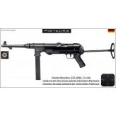 Pistolet mitrailleur GSG MP40 Calibre 9x19 Catégorie B2-Ref GSG9-Autorisation Préfecture