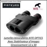 Jumelles Binoculaires  KITE  STABILISATEUR IMAGE grossissement 12x30-Promotion- Ref K283612-KITE