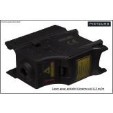 LASER Adaptable sur Walther  Cal 4,5m/m à C02.Pour CP99 Walther Night Hawk et Umarex CP Sport.
