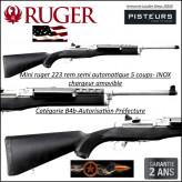 Carabine Ruger mini 14 Ranch K mini Semi automatique U.S.A Calibre 5.56 Otan-Catégorie B4b-Ref 32301448